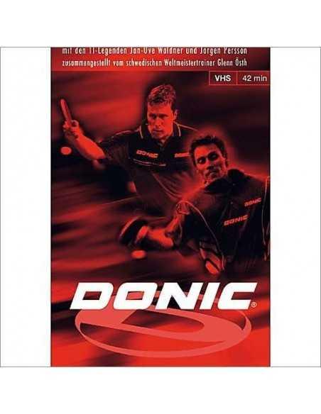 DVD Donic Techniques, Tactics, Tricks II