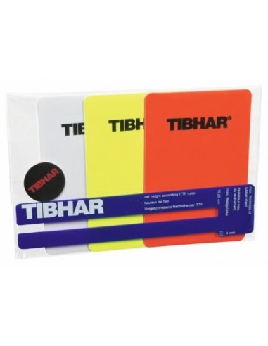 Kit de arbitro Tibhar