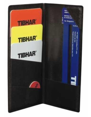 Kit de arbitro con funda Tibhar
