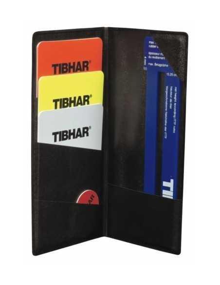Set Arbitro con funda Tibhar