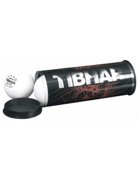 Estuche Tibhar para 3 pelotas