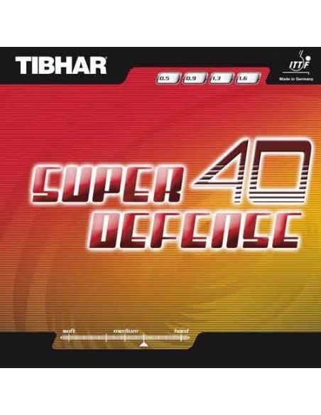 Rubber Tibhar Super Defense 40