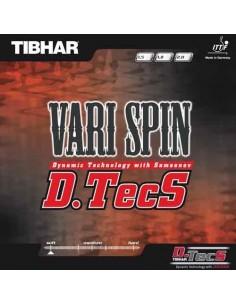 Rubber Tibhar Vari Spin D.Tecs