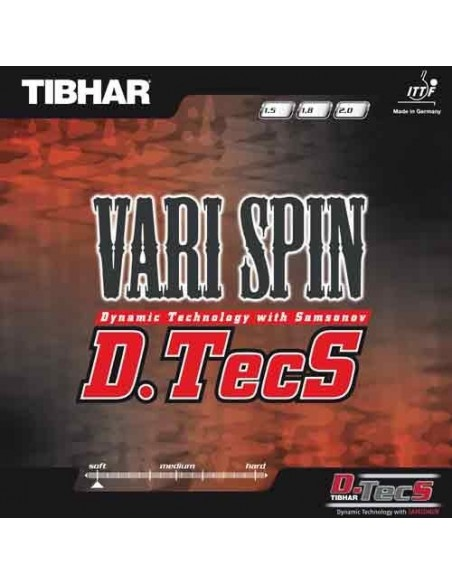 Belag Tibhar Vari Spin D.Tecs