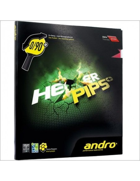 Rubber Andro Hexer Pips +