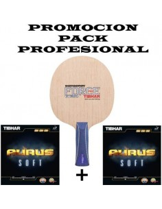 Pack Profesional Samsonov Force Pro + 2 Aurus Soft Revêtement