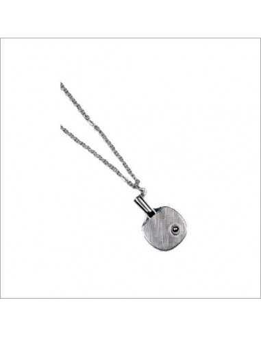 Cadena con pala en plata Tibhar. Pequeña, 45 cm.