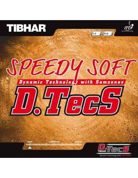 Rubber Tibhar Speedy Soft D.Tecs