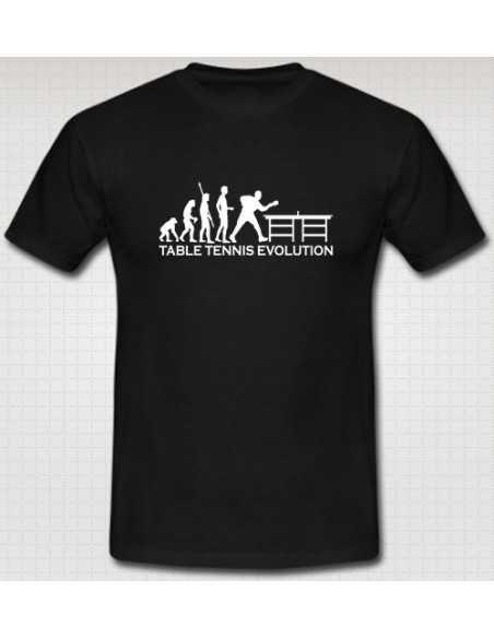 T-Shirt Table Tennis Evolution