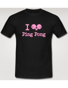 Camiseta I Ping Pong
