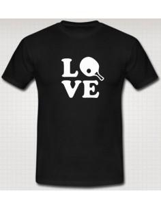 T-shirt Love Tischtennis