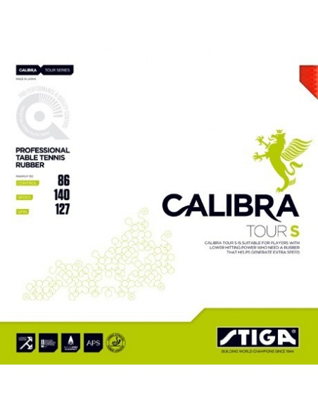 Rubber Stiga Calibra Tour S