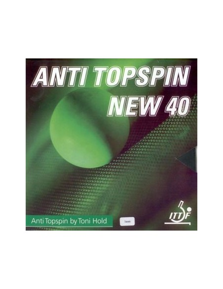Rubber Toni Hold Anti topspin 40