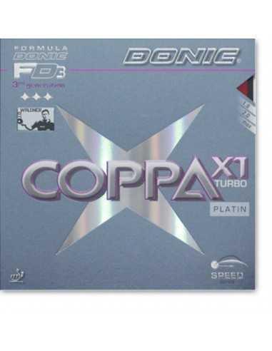 Goma Donic Coppa X1 Turbo Platin