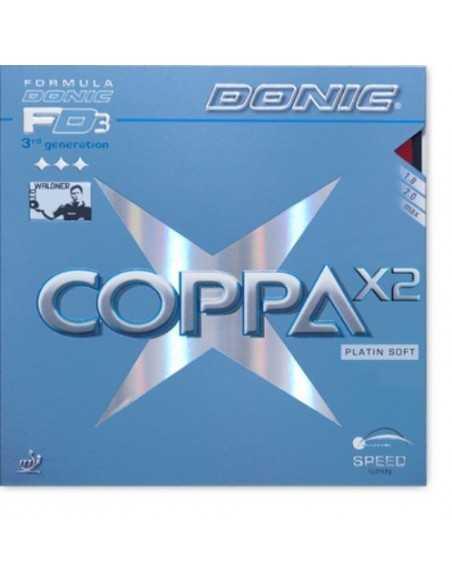 Revêtement Donic Coppa X2 Platin Soft