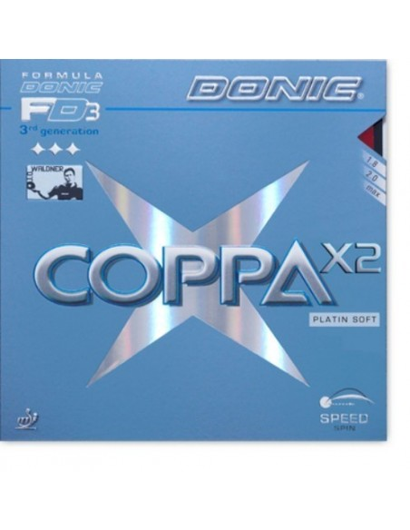 Rubber Donic Coppa X2 Platin Soft
