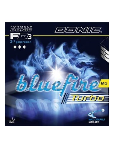 Borracha Donic Bluefire M1 Turbo