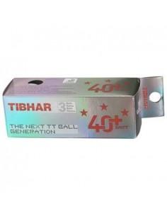 Pelota de plastico Tibhar 40+ 3***