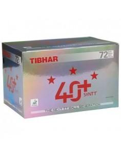 Balles en plastique Tibhar 40+ 3*** pack 72