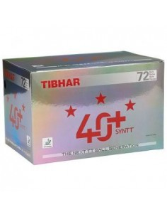 Plastic Ball Tibhar 40+ 3*** pack 72