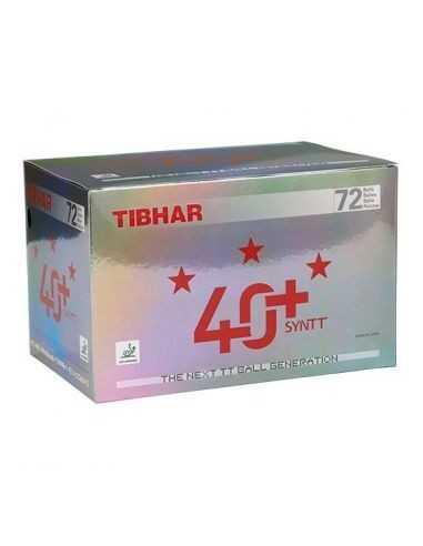 Pelota de plastico Tibhar 40+ *** Caja de 72