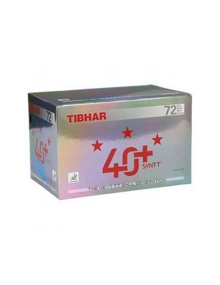 Pelotas Tibhar 40+ Synt *** Plástico Pack de 72