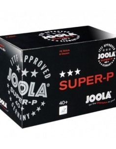 Pelota Joola Super-P *** 40+ pack 72