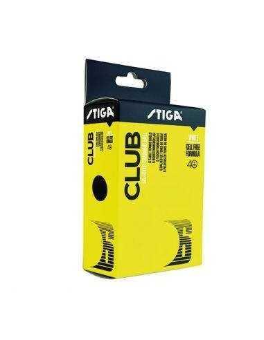 Pelotas de plastico Stiga Club 40+ Pack 6