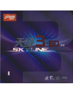 Rubber DHS SKYLINE 3-60 SOFT