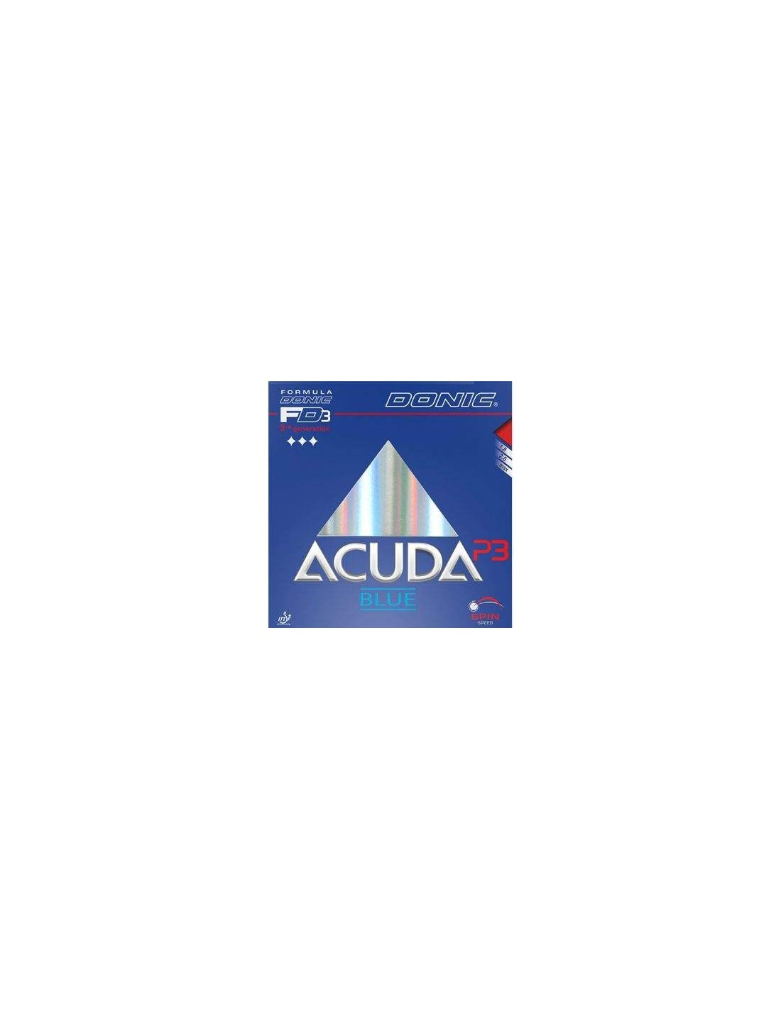 Rubber Donic Acuda Blue P3 Gomas