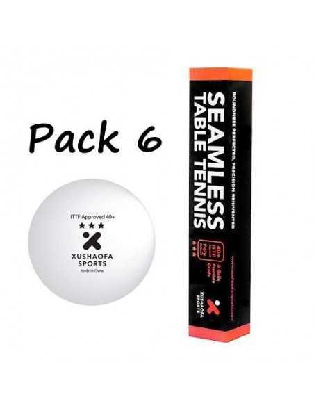 Pelotas de plastico Xushaofa 3*** pack 6