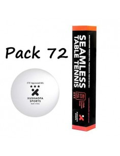 Balle plastique Xushaofa 3*** pack72