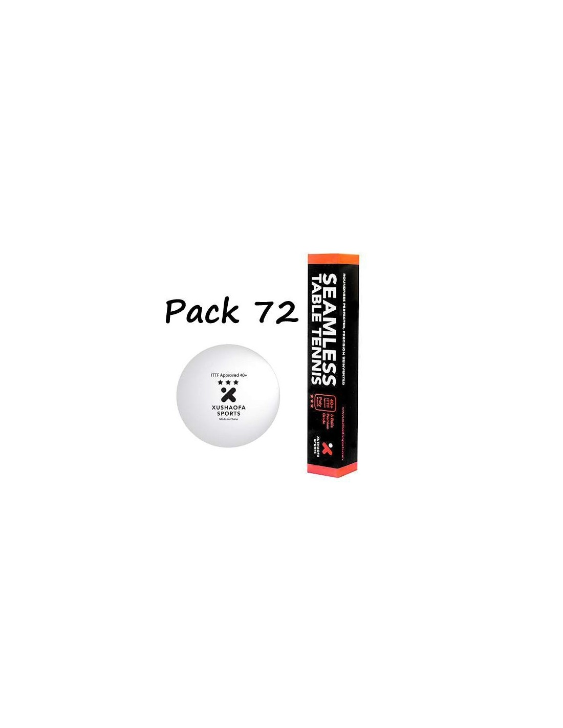 Balle plastique xushaofa 3 pack72 tennis de table balles - Balle plastique tennis de table ...