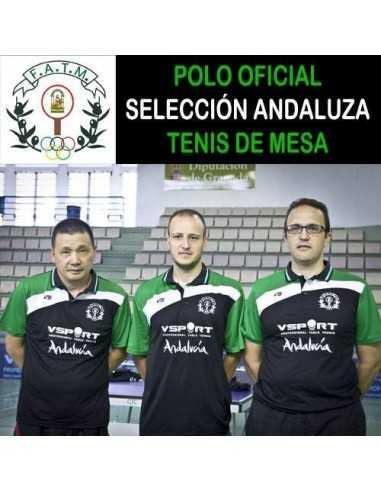 Polo FATM Selección Andaluza Tenis de Mesa