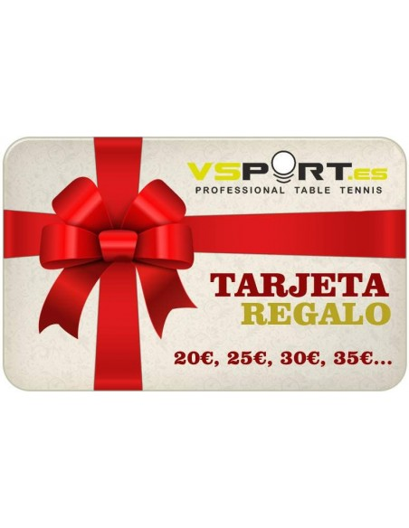 GIFT CARD TABLE TENNIS
