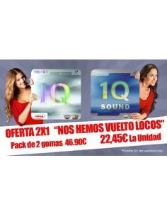 2x1 Pack Rubbers 1Q & 1Q Sound