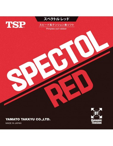 Rubber TSP Spectol Red
