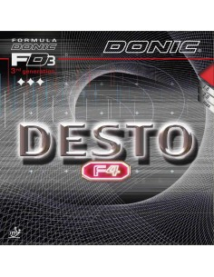 Rubber Donic Desto F4