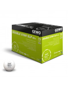 Bolas GEWO P40+ Double Star 2** plástic. Pack 60