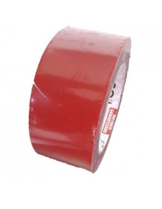 Red adhesive tape for sports floor 50mm X 33mt