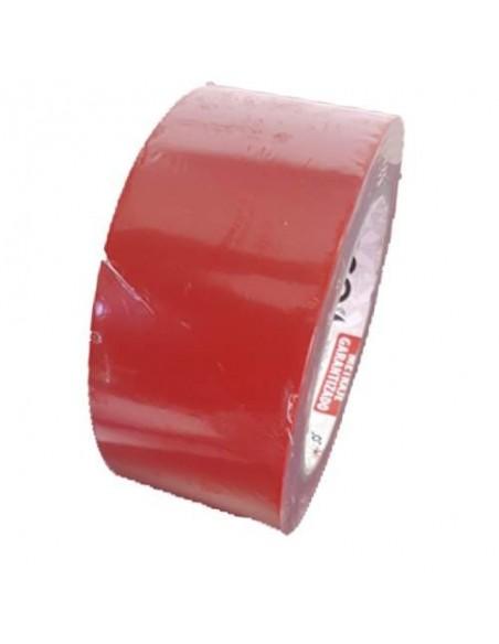 Cinta adhesiva roja para suelo deportivo 50mm X 33mt