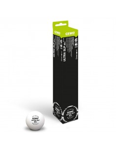 Plastic Ball GEWO Ultra SLP 40+ 3***. Pack 3
