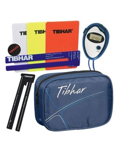 Tibhar Complete Umpire set + bag