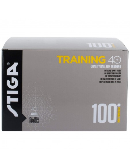 Balls Stiga Training ABS 40+ pack 100