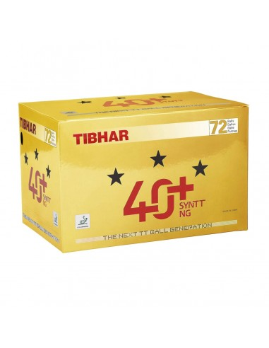Balls Tibhar 40+ Synt NG *** Plastic ABS Pack 72