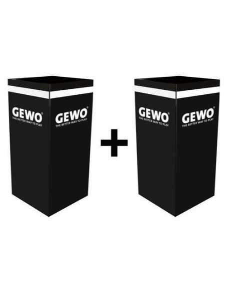 GEWO towelbox black PACK X2