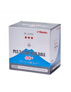 Plastic Balls Nittaku SD 40+ 3*** pack 120