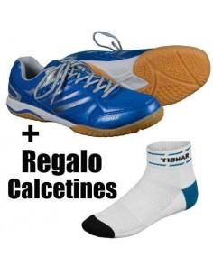 Shoes Tibhar Titan Ultra Strong (blue) + Free Socks