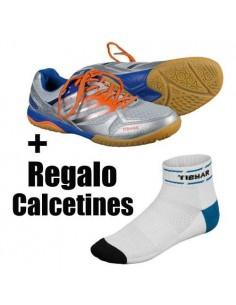 Zapatillas Tibhar Titan Ultra Strong (plateada) + Calcetines Regalo