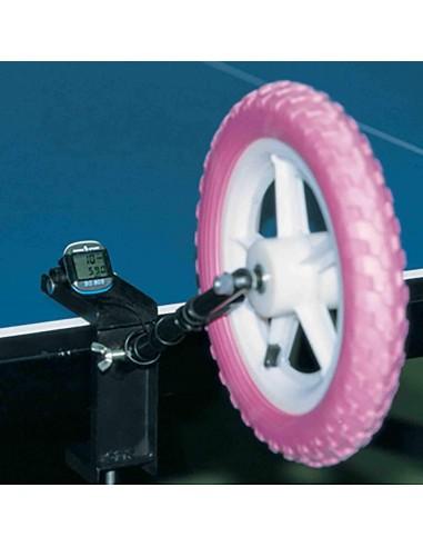 Roda de treinamento TSP com velocimetro